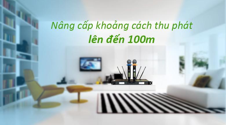 Micro Shure UR24D | thu phát sóng ổn định