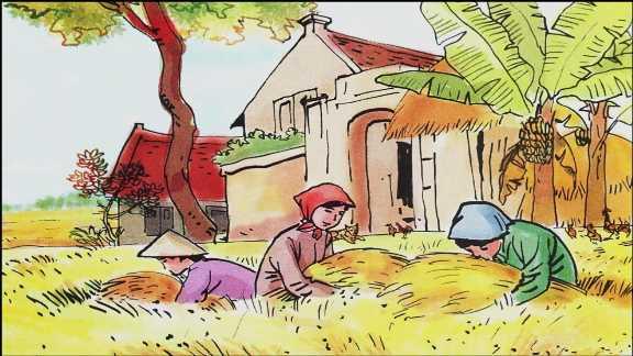 """Cảm-nhận-về-""""Quang-cảnh-làng-mạc-ngày-mùa""""-của-Tô-Hoài"""